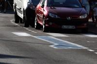 Miejsce parkingowe dla niepełnosprawnych (Francja, 29.8.2018) (fot. Jolanta Michasiewicz)