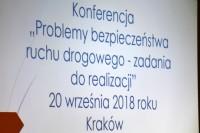 Małopolski Ośrodek Ruchu Drogowego w Krakowie, 20.9.2018