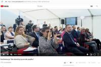 """YouTube – Konferencja prasowa – transmisja - Konferencja """"Nie skreślaj życia tak prędko"""""""