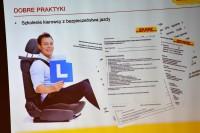 Fragment prezentacji Łukasza Sieranta (DHL Polska)