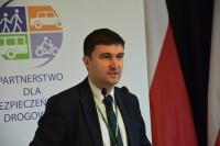 Bartłomiej Morzycki, prezes zarządu Partnerstwa dla Bezpieczeństwa Drogowego
