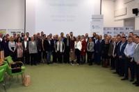 """Uczestnicy seminarium """"Rozwój innowacyjnych kwalifikacji w transporcie drogowym"""" (Warszawa, 13.11.2018 r.)"""