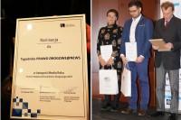Nominacja dla PRAWA DROGOWEGO@NEWS w kategorii MEDIA ROKU 2018 (fot. Łukasz Gruszczyński)