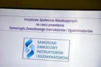 Inicjatywa Społeczna Nieobojętnych na rzecz powołania Samorządu Zawodowego Instruktorów i Egzaminatorów. Posiedzenie 12.12.2018