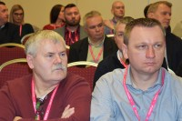 Tomasz Tkacz (po prawej). Toruń, 23 stycznia 2019 r. (fot. Jolanta Michasiewicz)