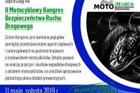 II Motocyklowy Kongres Bezpieczeństwa Ruchu Drogowego. Warszawa, 11 maja 2019 r. (fot. Jolanta Michasiewicz)