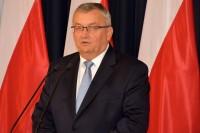 Ministerstwo Infrastruktury, 7.6.2019. Konferencja z udziałem ministra Andrzeja Adamczyka