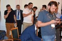 Uczestniczący w konferencji dziennikarze zadali wiele ważnych pytań