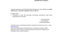 Senat RP, 9.7.2019, posiedzenie Komisji Infrastruktury poświęcone inicjatywie powołania samorządu zawodowego instruktorów i egzaminatorów (fot. Jolanta Michasiewicz)