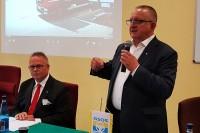Przemawia Andrzej Misiołek, Senator RP