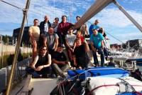 Uczestnicy rejsu morskiego jednostki s/y OCEAN-B (sierpień 2019)