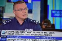 WYPADKI DROGOWE - WAKACJE 2019. Źródło: TVN24, 5.9.2019