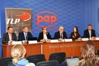 Konferencja prasowa. Centrum Prasowe PAP, Warszawa 18.9.2019