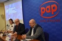 Konferencja prasowa, Centrum Prasowe PAP, Warszawa, 24.2.2020)