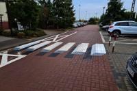 Przejście dla pieszych 3D. Lesznowola, 23.10.2020 (fot. archiwum Grupy IMAGE)