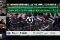 """Partnerstwo dla Bezpieczeństwa Drogowego - e-konferencja zatytułowana: """"Żeby wizja zero stała się rzeczywistością"""" (23.11.2020)"""