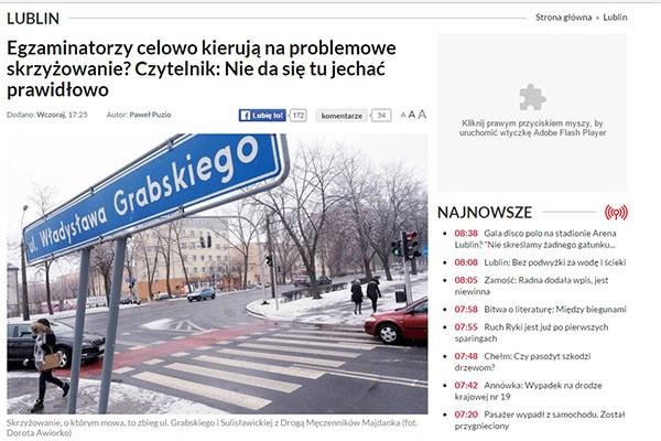"""""""Dziennik Wschodni"""" też pisze o jakości szkolenia"""
