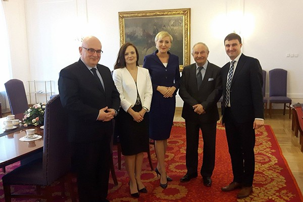 Pierwsza Dama wspiera działania na rzecz poprawy BRD