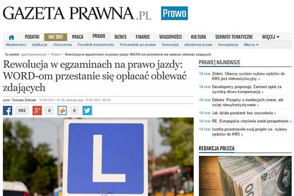 """""""Gazeta Prawna"""" o propozycjach ustawy, której jeszcze nie ma"""