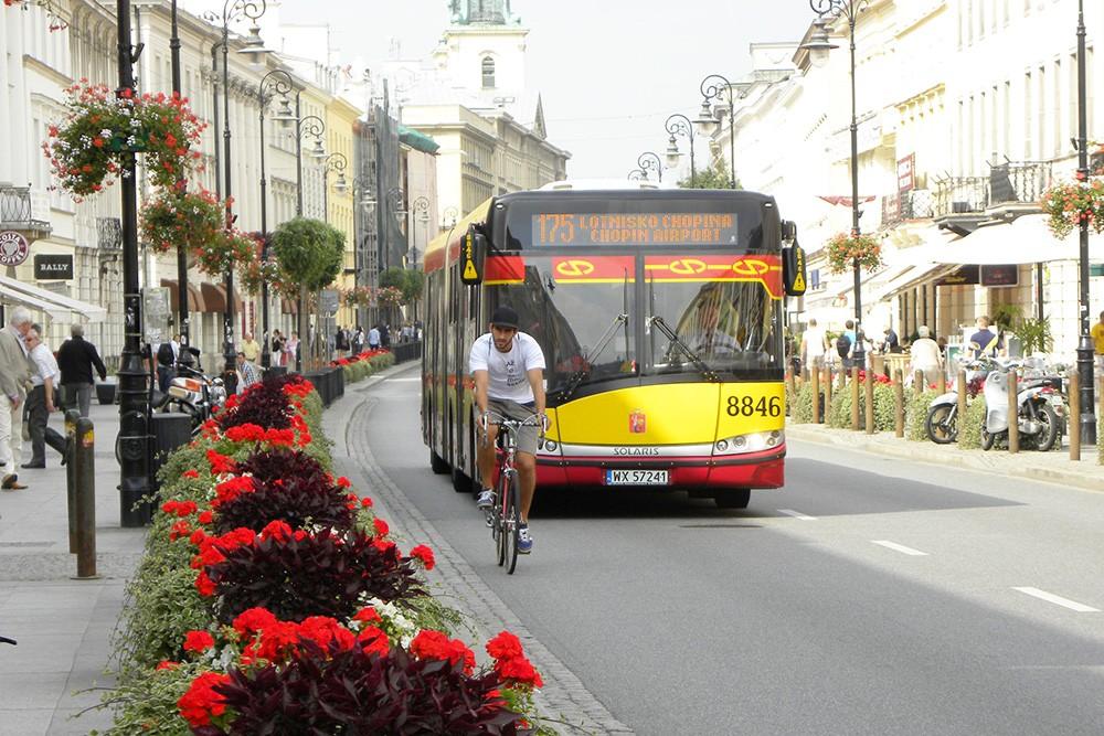 W Warszawie rowerzystów więcej o... 40%!