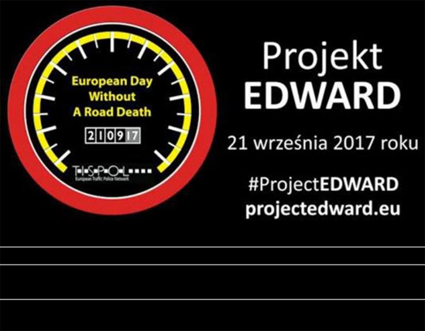 #Projekt EDWARD 2017. Dzień bez ofiar na drogach