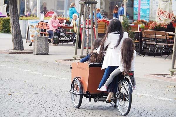 Coraz więcej rowerów cargo