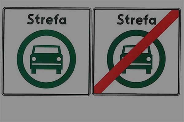 Już wiemy jak oznaczać strefy czystego transportu