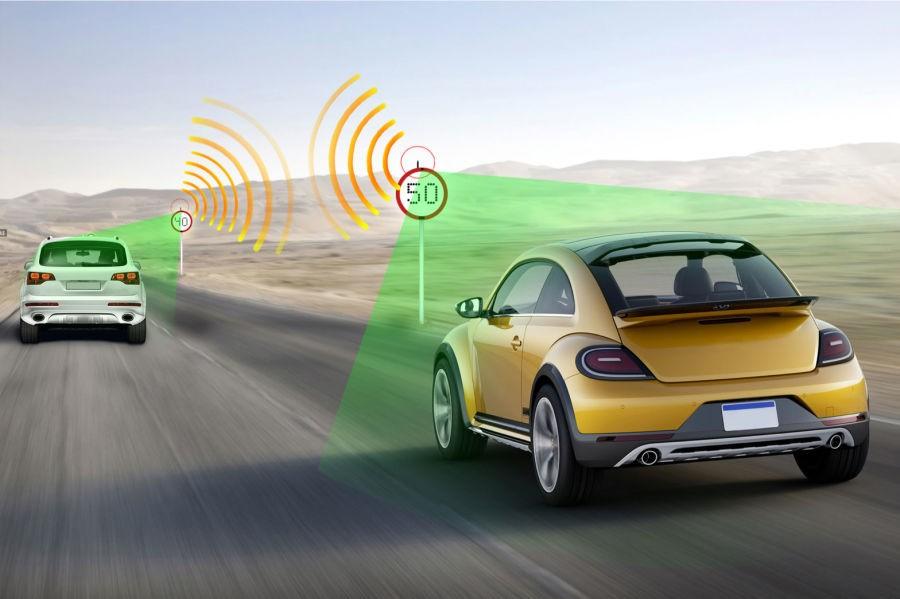 System inteligentnych znaków drogowych