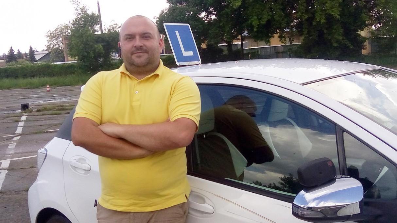 Jak Norbert Kamoda, instruktor nauki jazdy, rozumie swoją odpowiedzialność za brd?
