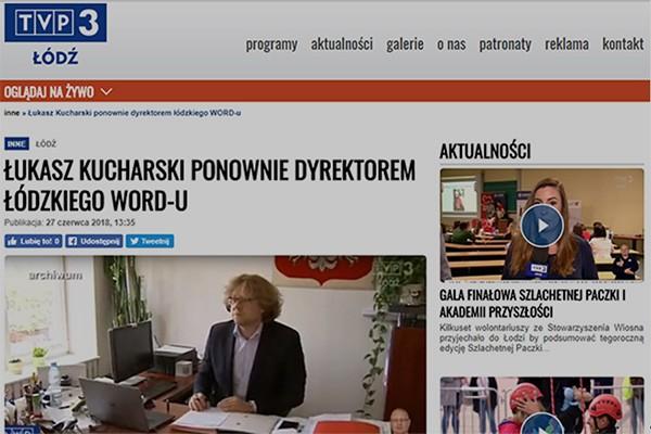 Dyrektor Łukasz Kucharski wrócił na stanowisko