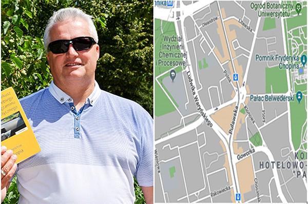 Marek Dworzecki. Sytuacja na placu Unii Lubelskiej