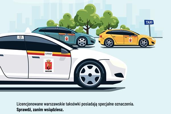 Wybierz bezpieczeństwo, jedź warszawską taksówką