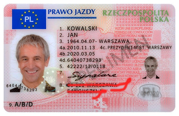 Prawo jazdy bez adresu zamieszkania