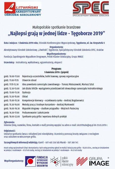 SZIE: Tęgoborze (5.4), Łomża 2019 (9.4)