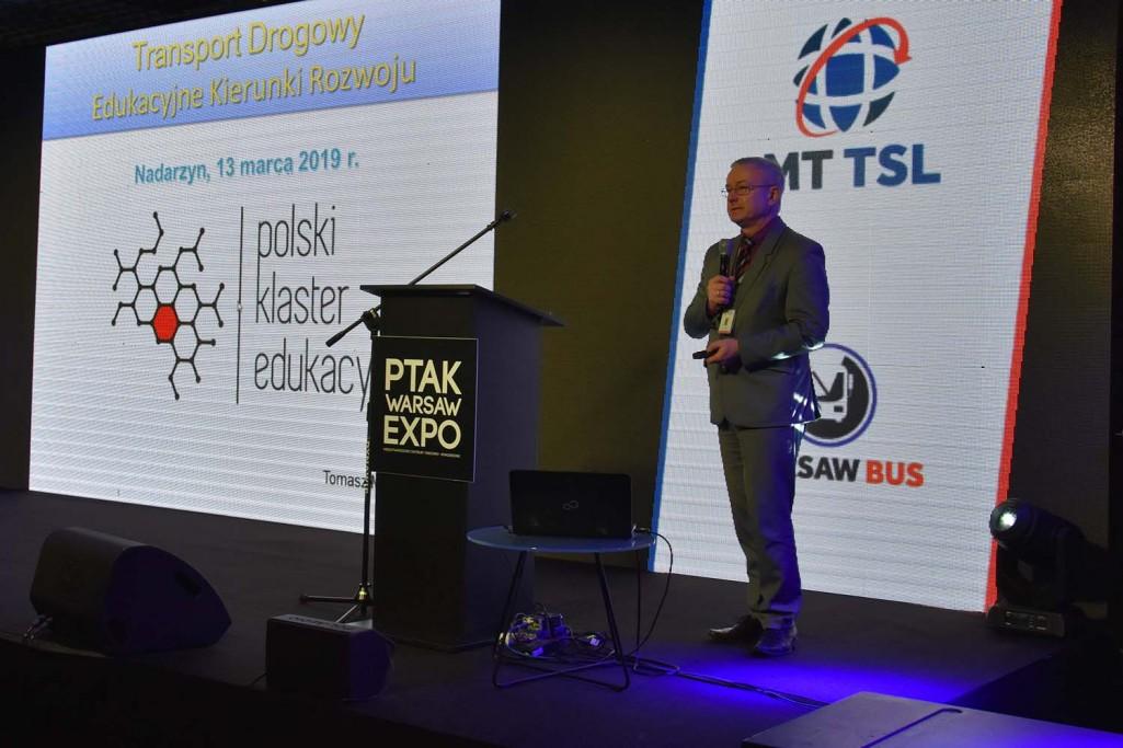 Polski Klaster Edukacyjny na III Międzynarodowych Targach Transportu, Spedycji i Logistyki