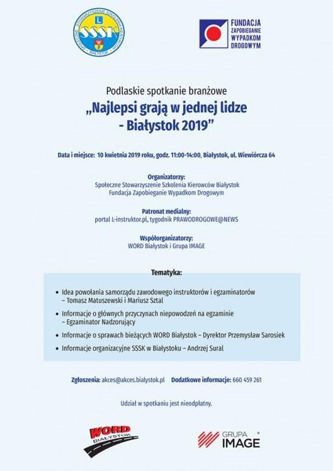 W Białymstoku (10.4.2019)