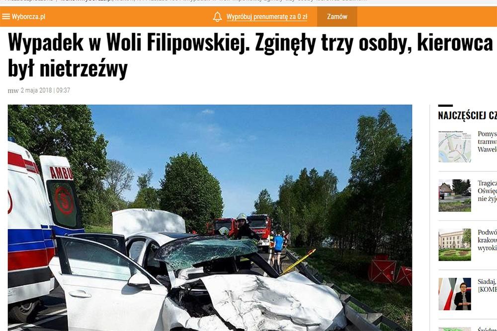 Czy to było zabójstwo drogowe? Czy wypadek ze skutkiem śmiertelnym?