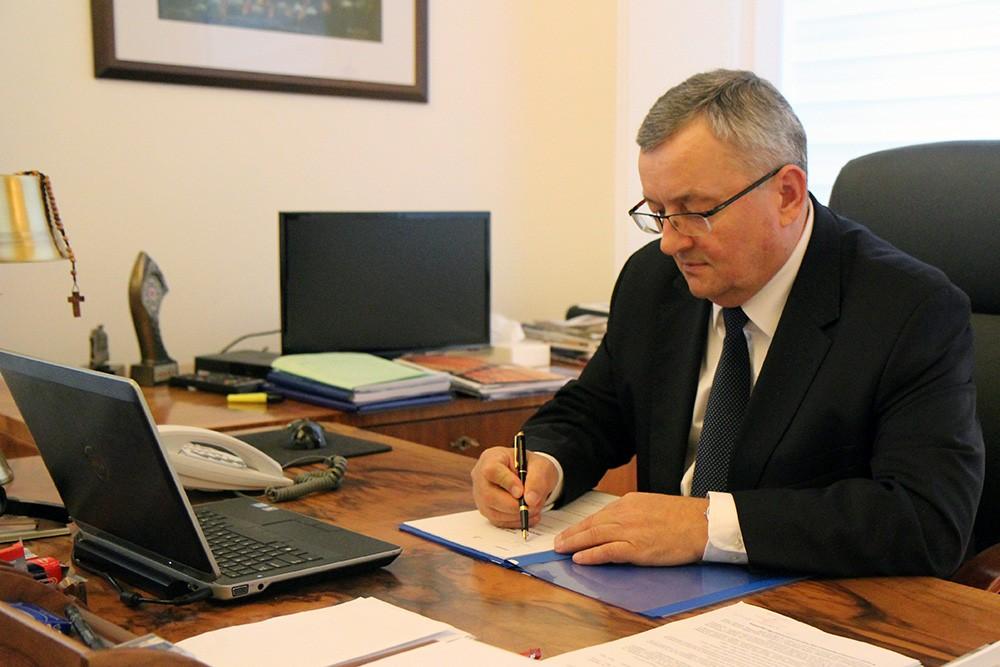 Minister zaakceptował podział środków