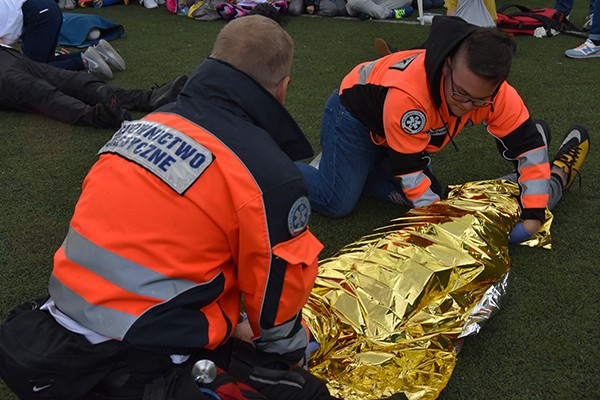 W sprawie nauki pierwszej pomocy w nagłych wypadkach