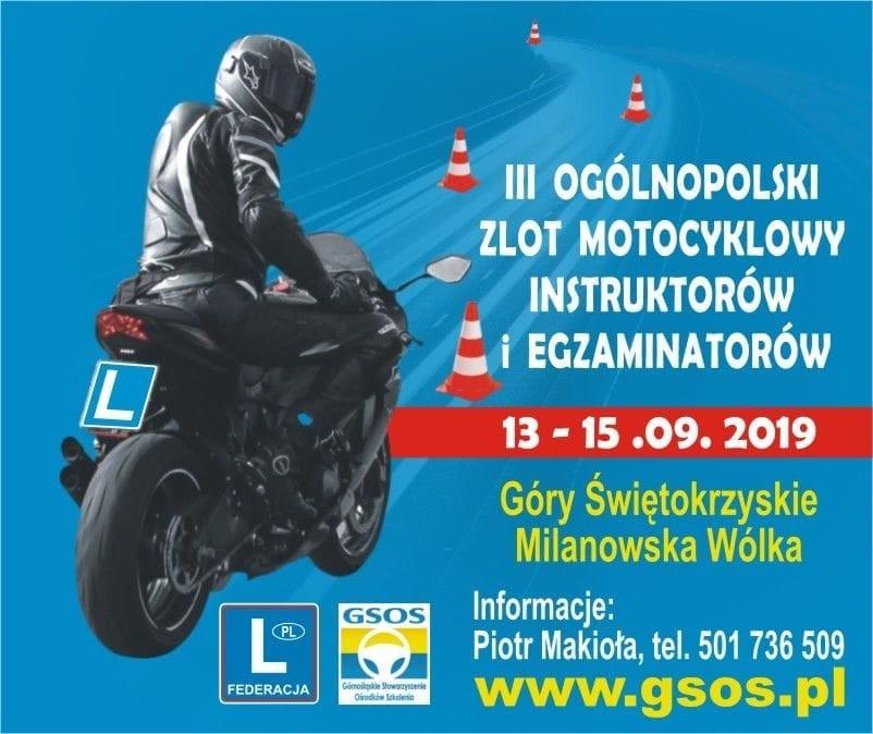 III Ogólnopolski Zlot Motocyklowy (13-15.9.2019)