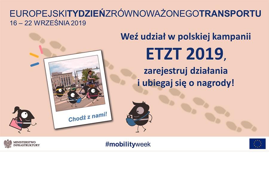 Europejski Tydzień Zrównoważonego Transportu (16-22.9.2019)
