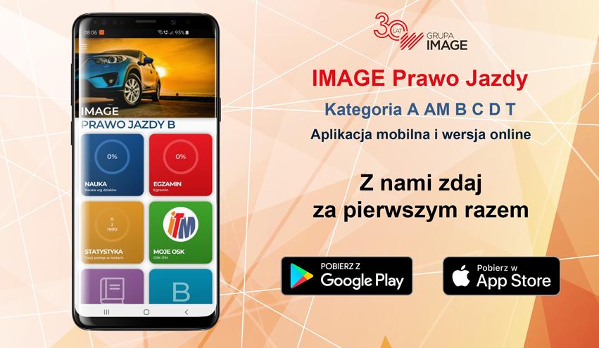 Aplikacja mobilna i wersja online dla kandydatów na kierowców
