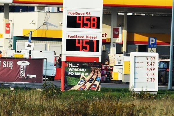 Opłata paliwowa w roku 2020.