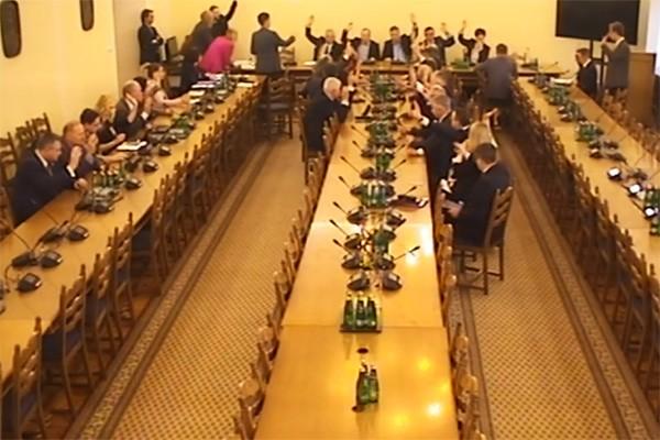 Przegłosowano wniosek o powołanie podkomisji stałej ds. bezpieczeństwa ruchu drogowego
