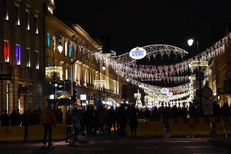 Iluminacje świąteczne tylko wówczas, gdy…