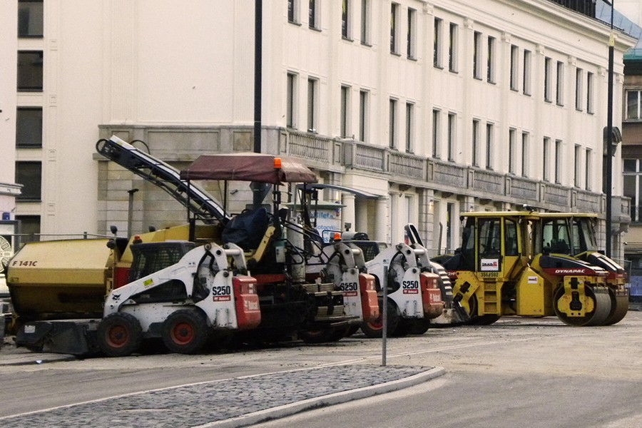Projekt dot. urządzeń nieporuszających się po drogach