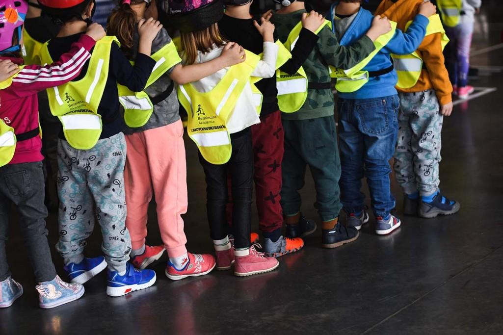 Bezpieczeństwo najmłodszych uczestników ruchu drogowego