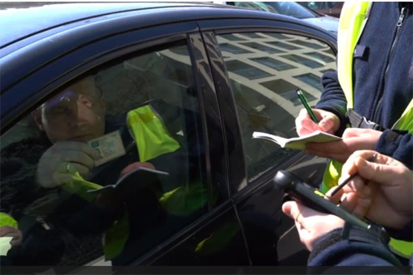 Bezpieczeństwo kontroli drogowych