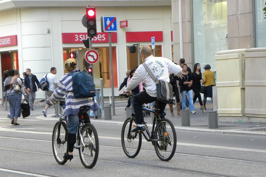 Kaski dla rowerzystów?