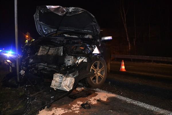 Sprawcy nocnych wypadków drogowych